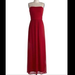 Formal Maxi Red Dress